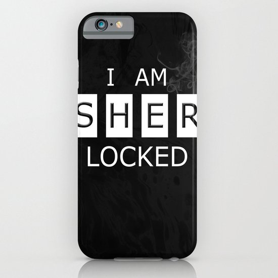 No. 1. I Am Sherlocked iPhone & iPod Case
