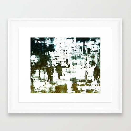 Every day life Framed Art Print
