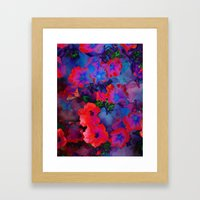 Ruby Red Vine Framed Art Print