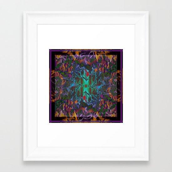 Textured pt1 Framed Art Print