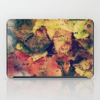 Waterlily Leaves - JUSTA… iPad Case