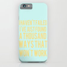 Inspirational Quote One  Slim Case iPhone 6s