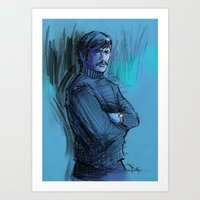 BRONSON VERSION 2 Art Print