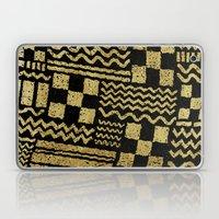 Gold Fuse Laptop & iPad Skin