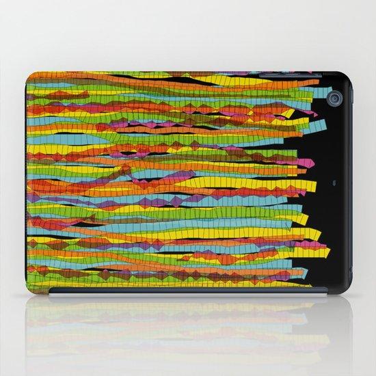 patterns - spaghettis 1 iPad Case