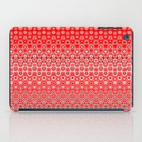 Mosaic Red iPad Case