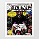 """Code Name: King""  - Comic Book Promo Poster  Art Print"