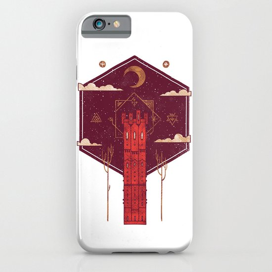 The Crimson Tower iPhone & iPod Case