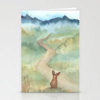 The Long And Winding Roa… Stationery Cards