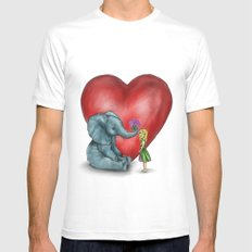 Pachyderm's  bouquet Mens Fitted Tee White SMALL