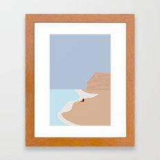 FORNØJELSE SURF Nr.01 Framed Art Print