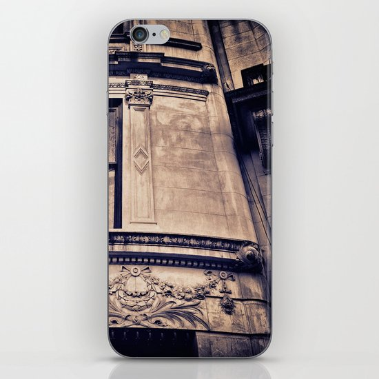 """UPPER WEST FAÇADE iPhone & iPod Skin"