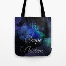 Carpe Noctem (Seize The Night) Tote Bag