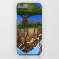 iPhone & iPod Case featuring Eden Rises by Justin Perkins