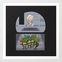 Teenage Mutant Ninja Per… Art Print