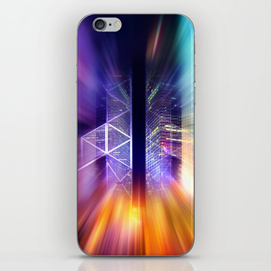 GOLDEN MOTION - Abstract Surrealism iPhone & iPod Skin