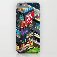 iPhone Cases featuring GAMECITY by Totto Renna
