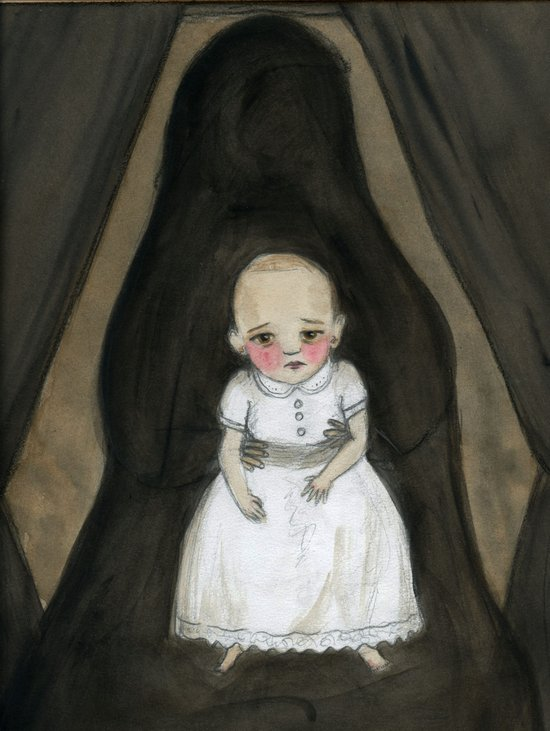 The Hidden Mother Art Print