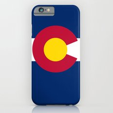 Colorado State Flag - Authentic version iPhone 6s Slim Case