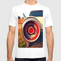 T-Bird Taillight Mens Fitted Tee White SMALL
