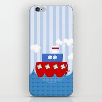 little boat iPhone & iPod Skin