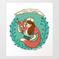 'Ship Mates' Art Print