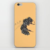 Seeds and the wasp iPhone & iPod Skin