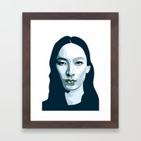 Alexander Wang Framed Art Print