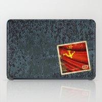Sticker Of Soviet Union … iPad Case