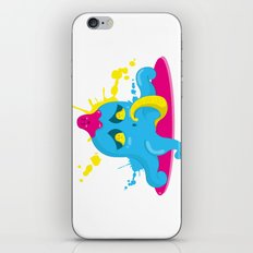 Poulpi iPhone & iPod Skin