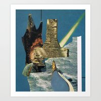 Arsicollage_9 Art Print