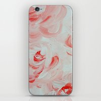 Pale Roses iPhone & iPod Skin