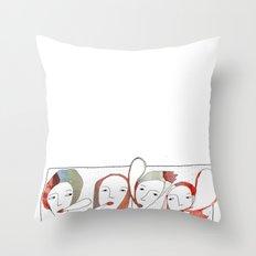 Le Quattro Grazie Throw Pillow