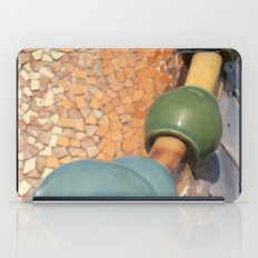 Gaudì roofs iPad Case