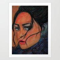 Ice Glance Art Print