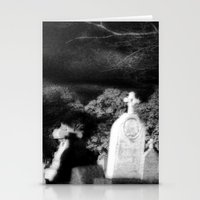 Graveyard Shadows Stationery Cards