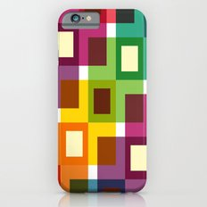 Colorful square pattern iPhone 6 Slim Case