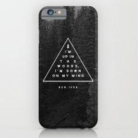 Woods -- Bon Iver iPhone 6 Slim Case