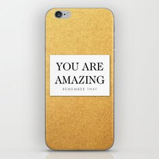 You are amazing iPhone & iPod Skin