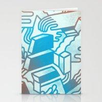Building Blocks Stationery Cards