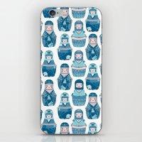 Matrioshkas Pattern iPhone & iPod Skin