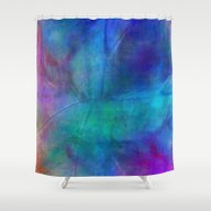 Texture Abstract Deep Bl… Shower Curtain