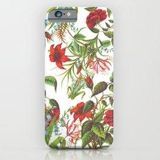 Ruby & Cerulean Floral iPhone 6s Slim Case