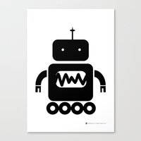 ROBOT Number Three Canvas Print