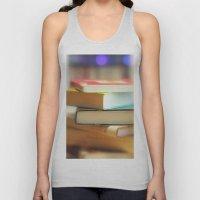 I love books Unisex Tank Top