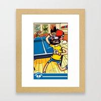 Beginner's Luck Framed Art Print