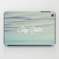 Stay Calm iPad Case