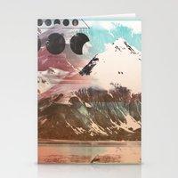 Mountainous Range Stationery Cards