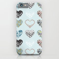 Vintage Hearts  iPhone 6s Slim Case