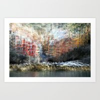 All About Italy. Piece 17 - Riomaggiore Essence Art Print